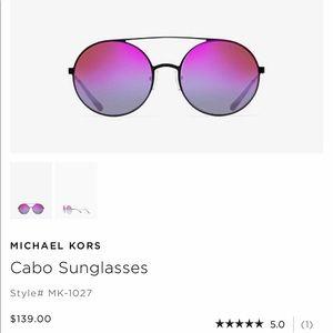 MK brand new sunglasses